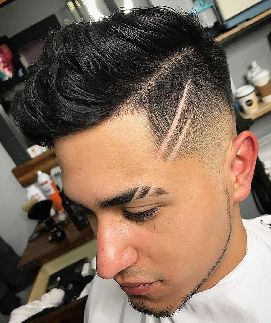 De moda peinados hombre con raya Galería de cortes de pelo Consejos - Corte De Cabello Para Hombre Con Raya   FormatoAPA.com ...